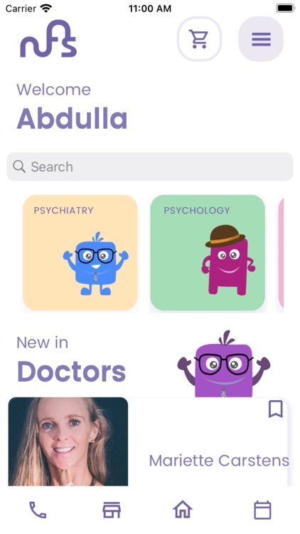 NFS Mental Health App