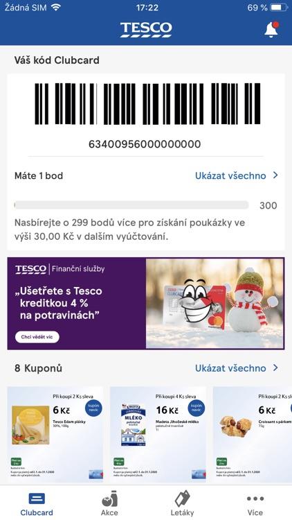 Clubcard Tesco Česko