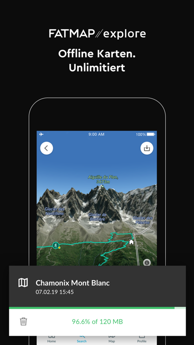 messages.download FATMAP: Ski, Wandern und MTB software