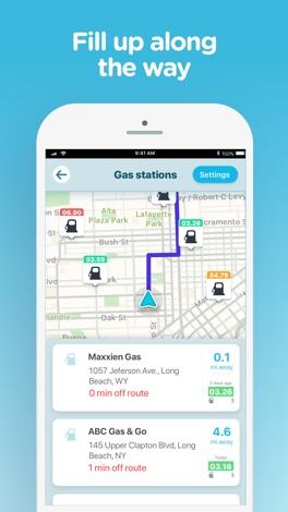 Waze Navigation & Live Traffic screenshot for iPhone