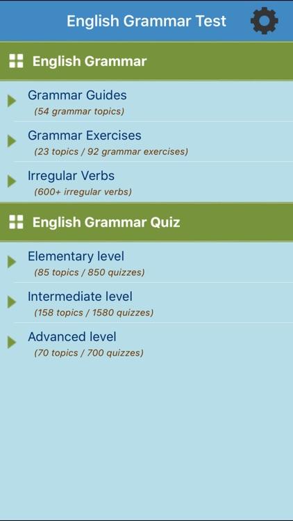 English Test: Grammar by Thanh Vu Truong
