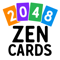 App Icon for 2048 Zen Cards App in Indonesia IOS App Store