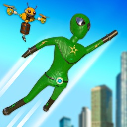 Stickman Fight: Rope Hero Game