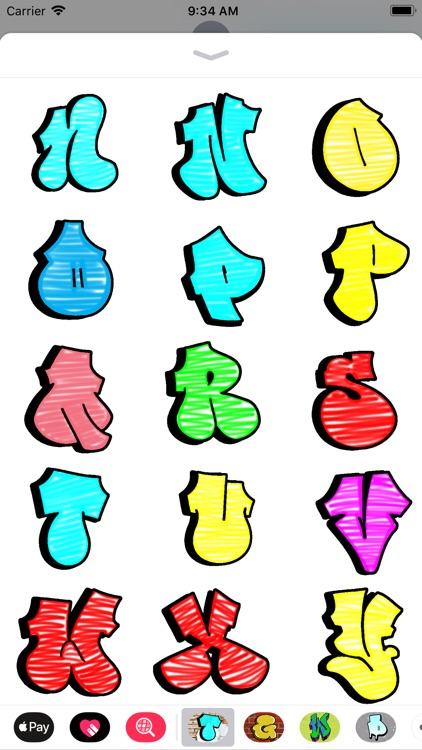 GRAFFITI THROW-UP LETTERS