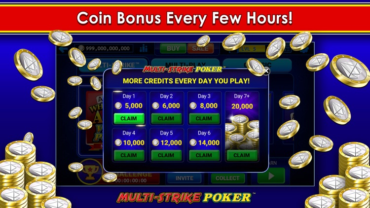 Multi-Strike Video Poker screenshot-9
