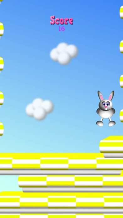 Screenshot for Bunny Hoppy in Hong Kong App Store