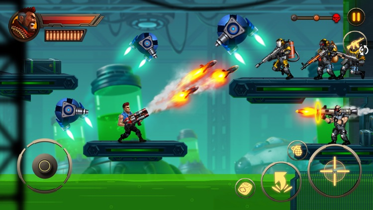 Metal Squad: Shooting Game screenshot-0