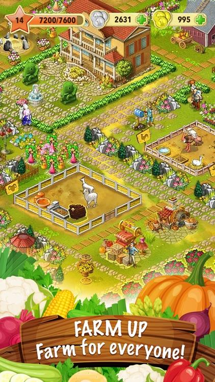 Jane's Farm: farming town screenshot-0
