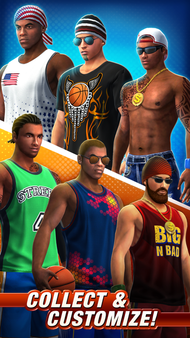 Screenshot from Basketball Stars™