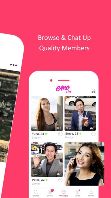 EME Hive - #1 Asian Dating App Screenshot