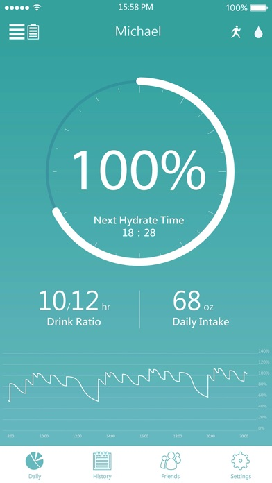 DrinKup bottle - Stay Hydrated screenshot two