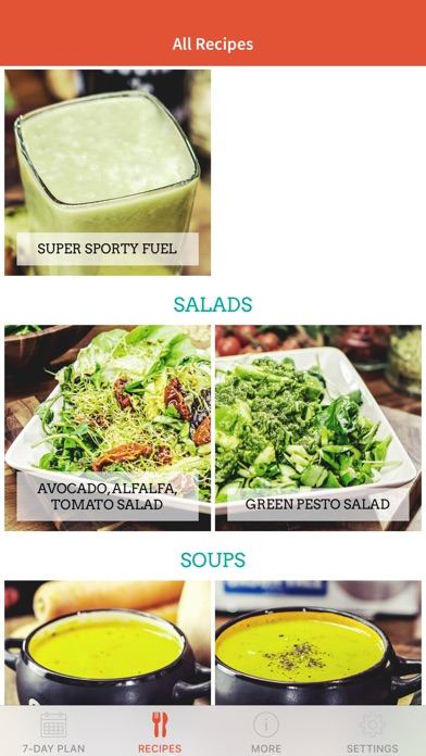 Screenshot for Jason's Soup + Juice Challenge in United Arab Emirates App Store