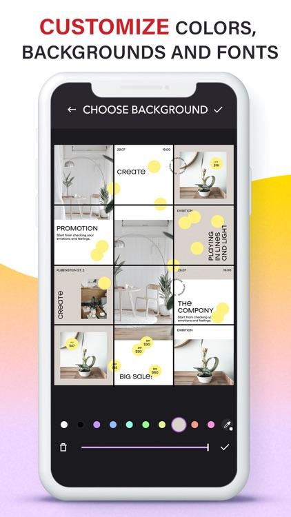 Grids: Giant Square, Templates screenshot-3