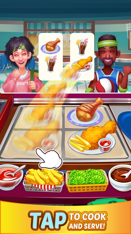Crazy Chef Cooking Game screenshot-0