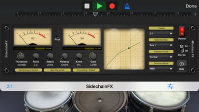 Sidechain Compressor Plugin screenshot 2