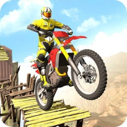 Bike racing megaramp stunts 3D