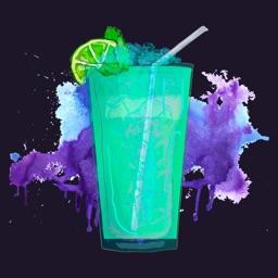 Cocktails Art-Bartender mix