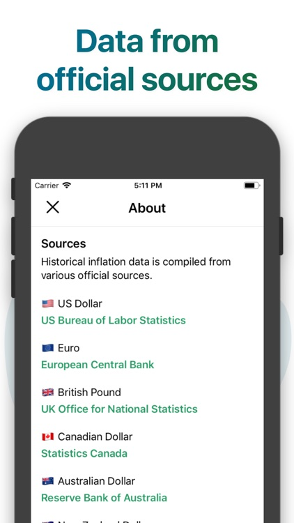 Inflation Calculator screenshot-5
