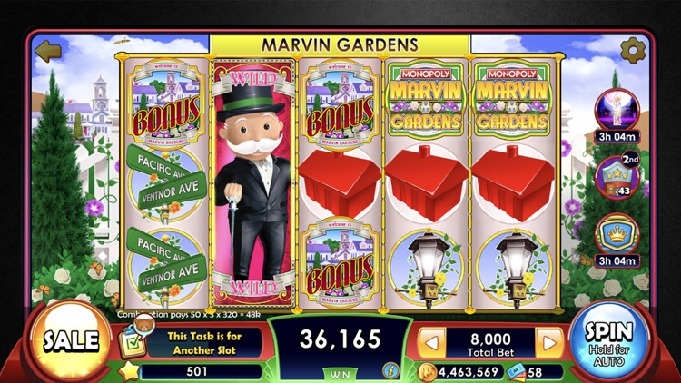 MONOPOLY Slots - Slot Machines screenshot-3