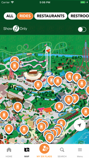 Six Flags On The App Store