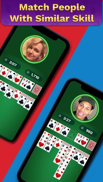 Solitaire Clash: Win Cash screenshot 1