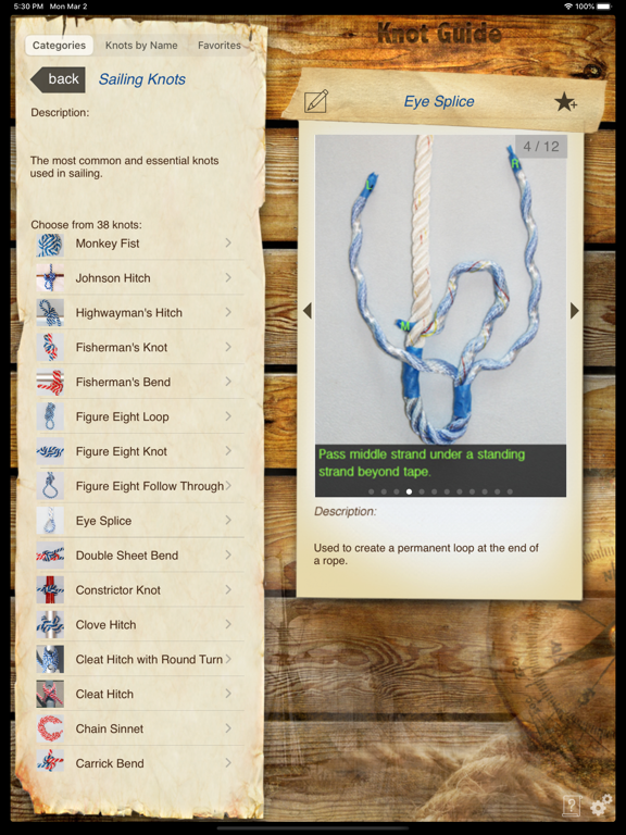 Knot Guide HD screenshot three