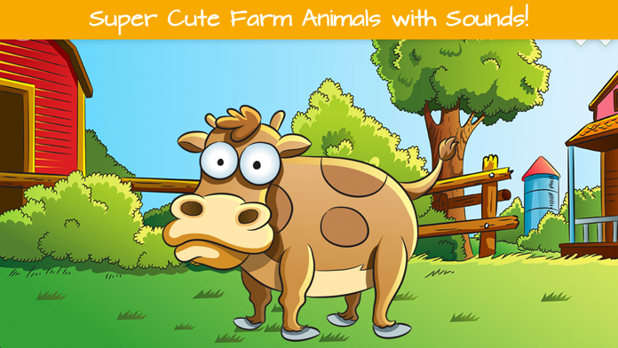 Farm Animals and Animal Sounds Screenshot