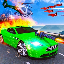 Car Shooting Game:Battle Crash