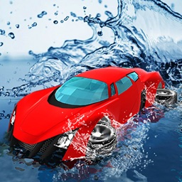 Water Surfing Car Games 2021