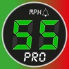 スピードメーター 55 Pro - GPS速度計 ロガー。