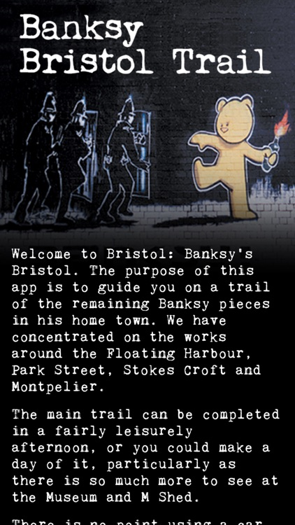 Banksy Bristol Trail screenshot-1