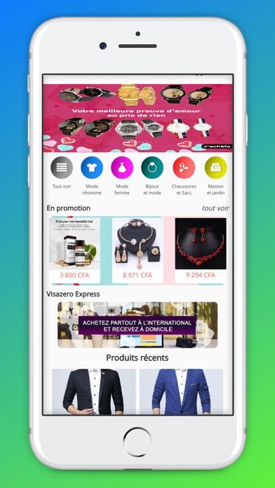Screenshot for Visazero in Ukraine App Store