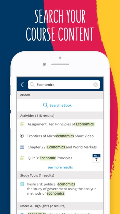 Screenshot for Cengage Mobile in South Africa App Store