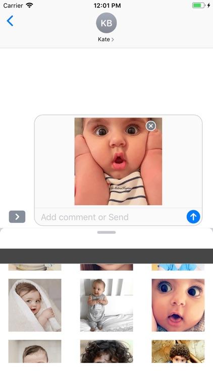 Cute Baby Emojis Stickers