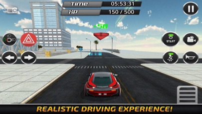Ultimate Car Driving City St screenshot #1