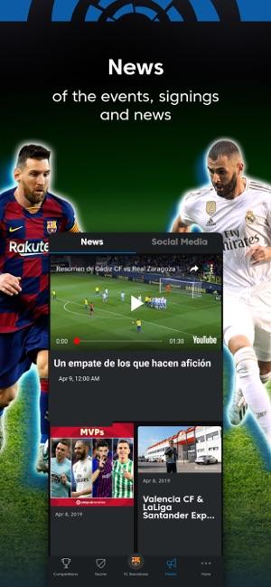 La Liga Live Soccer Scores On The App Store