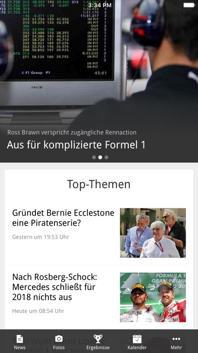 Screenshot for Formel1.de in Germany App Store