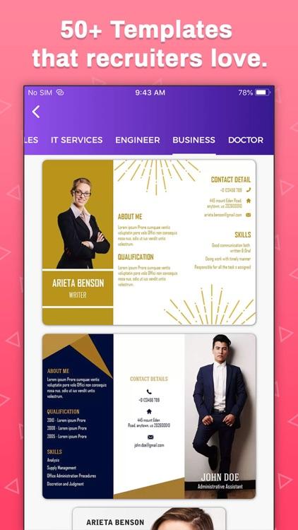 Resume Builder, CV Maker screenshot-7