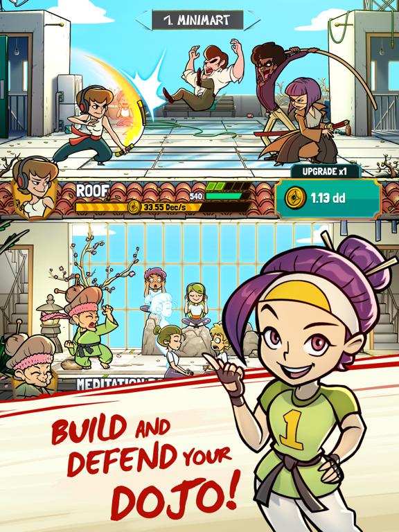 Kung Fu Clicker: Idle Dojo screenshot 6