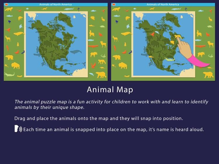 Animals of North America screenshot-4