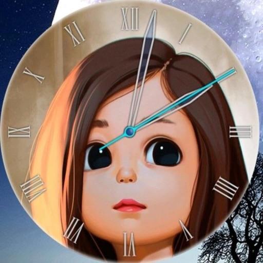 Analog Clock-Stand Face Clock