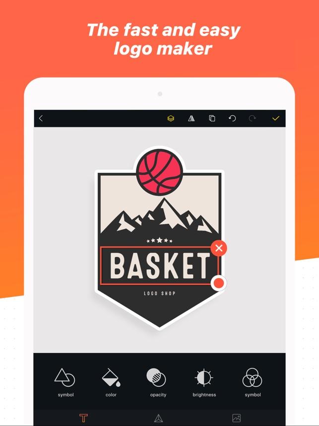 184a1f7a07e17 Logo Maker Shop on the App Store