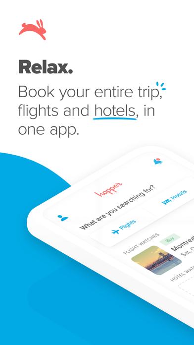 cancel Hopper - Flight & Hotel Deals app subscription image 1