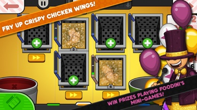 Papa's Wingeria To Go! Screenshot