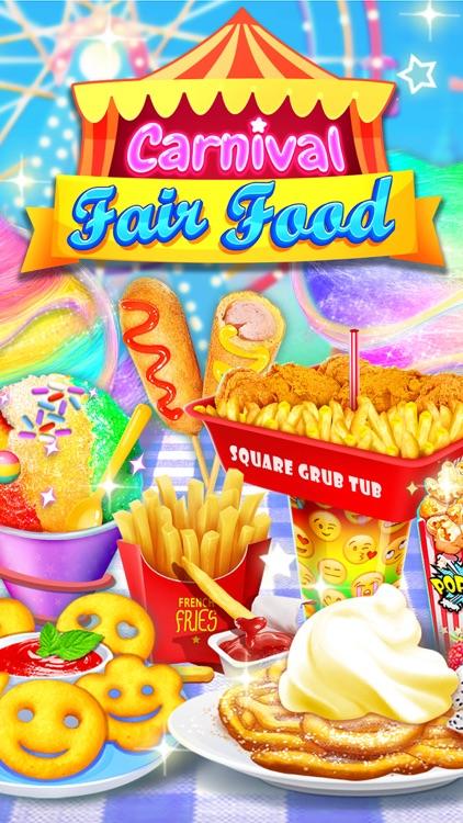 Food Games: Carnival Fair Food screenshot-4