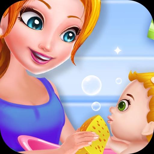 الطفلة والأم -العاب بنات اطفال