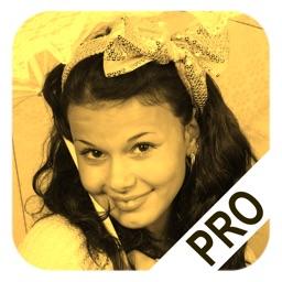 Sepia Shine Pro: filter effect