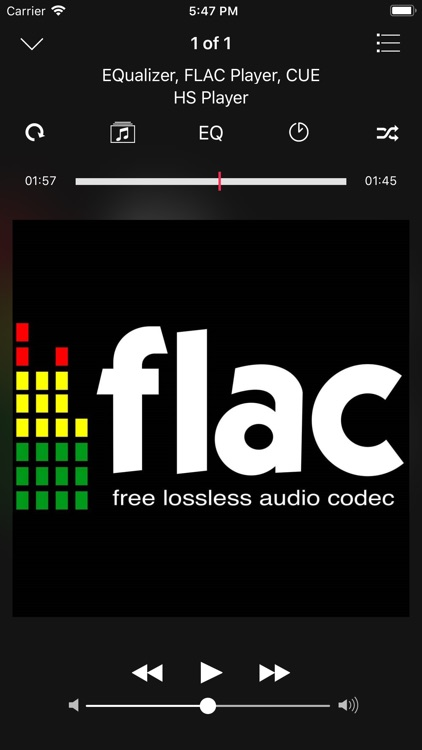HS Player - FLAC, EQualizer