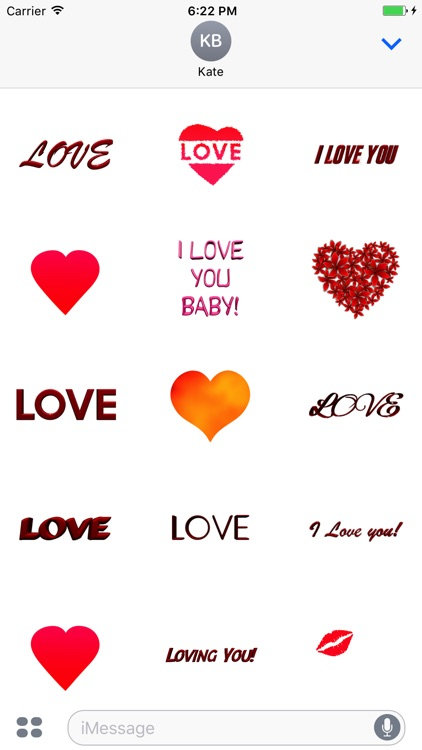 Love Stickers for Messages screenshot-1