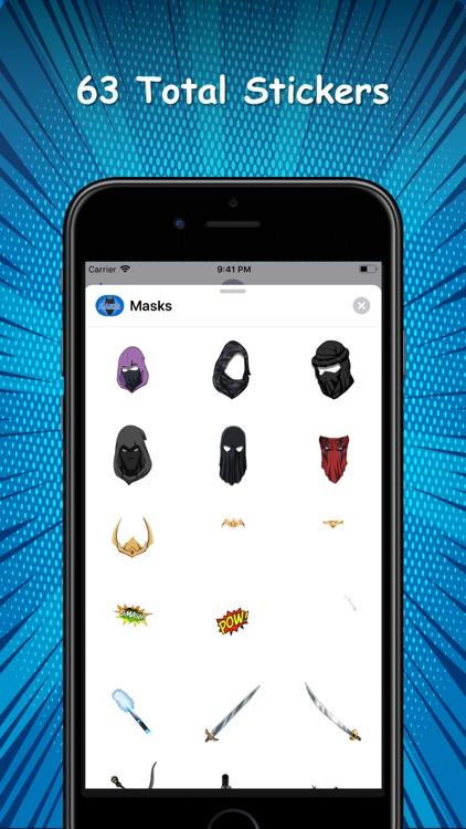 Superheroes - Masks and Powers screenshot-9